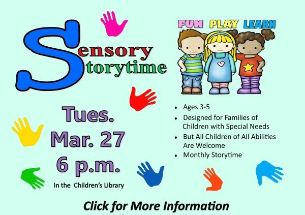 sensory storytime -Mar 27 2018 (Feature)