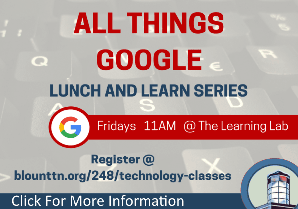 All things google lunch and learn series (Feature)
