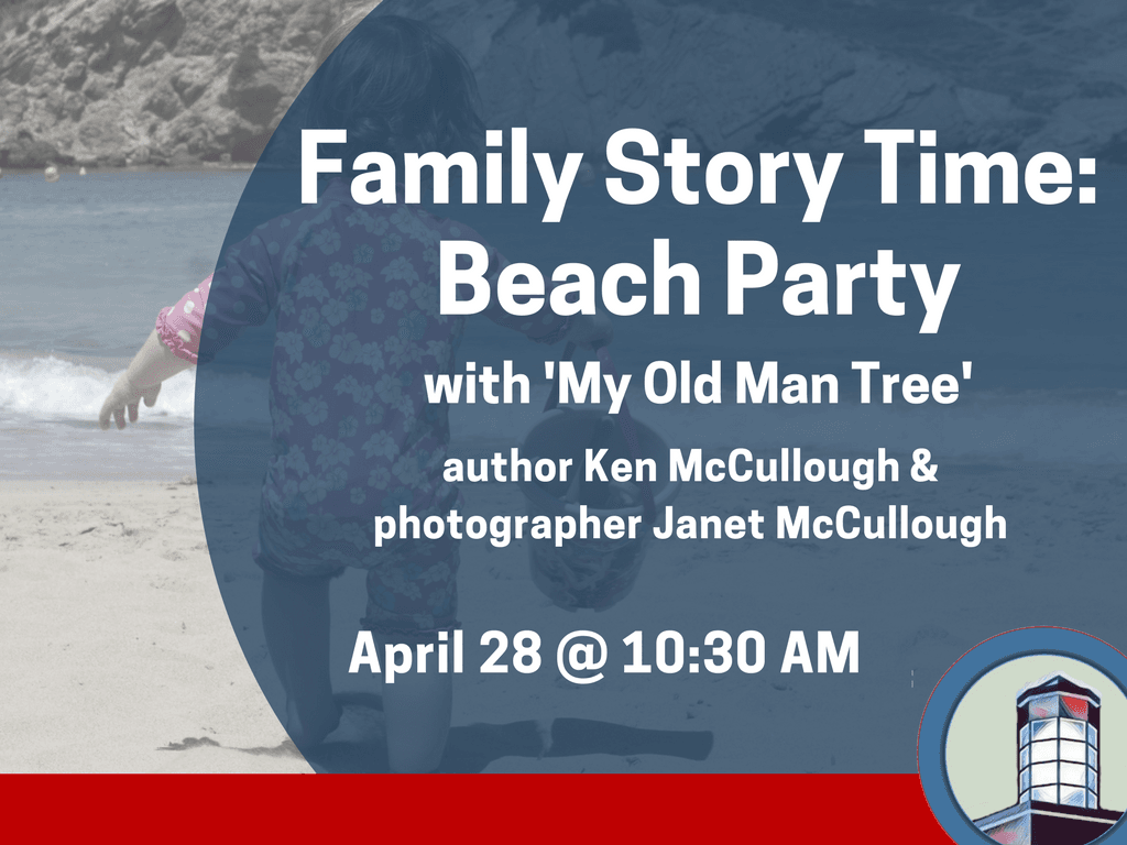 Family Story Time_ Beach Party April 28 2018 (Signage)