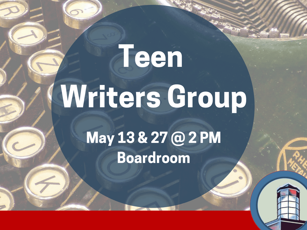 Teen writers May 13 27 2018 (Signage)