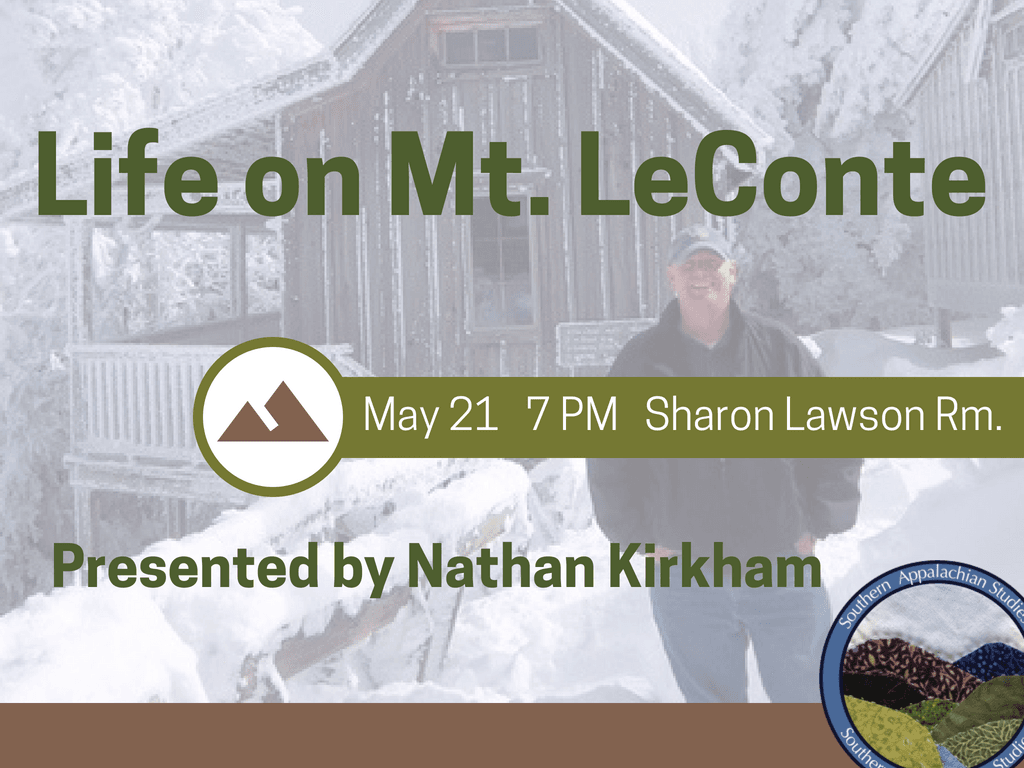 Life on Mt LeConte May 21 2018 (Signage)