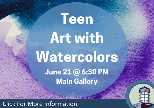 Teen Art with Watercolors June 21 2018 (Feature)