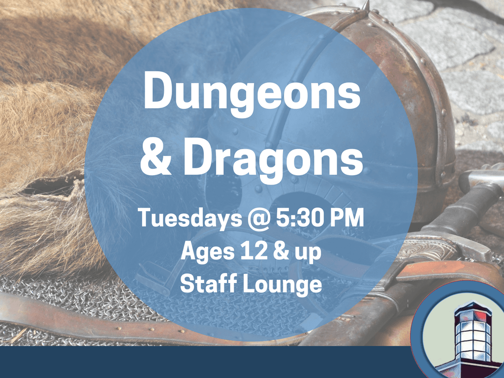Dungeons and Dragons June 1 to 30 2018 (Signage)