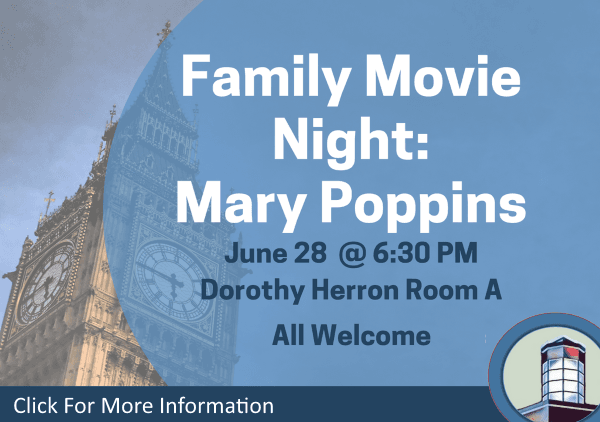 Movie Night Mary Poppins June 28 2018 (Feature)