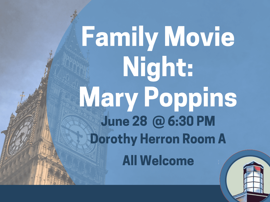 Movie Night Mary Poppins June 28 2018 (Signage)