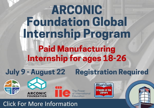 ARCONIC Internship July 9-Aug 22 2018 (Feature)