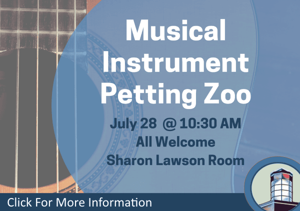 Musical Instrument Petting Zoo July 28 2018 (Feature)