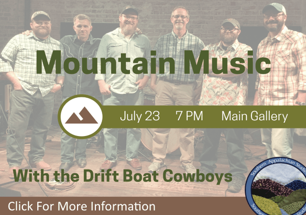 Mountain Music with Drift Boat Cowboys July 23 2018 (Feature)