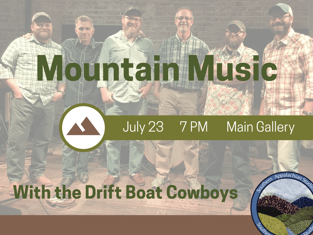 Mountain Music with Drift Boat Cowboys July 23 2018 (Signage)
