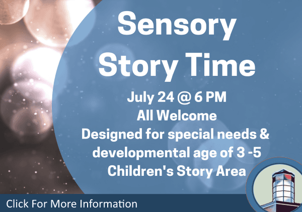Sensory Story Time July 24 2018 (Feature)