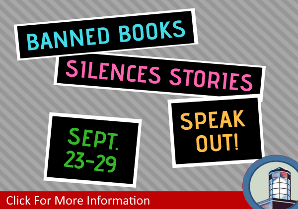Banned Books Week September 23 to 29 2018 (Feature)