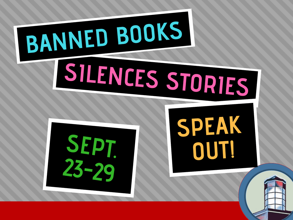 Banned Books Week September 23 to 29 2018 (Signage)