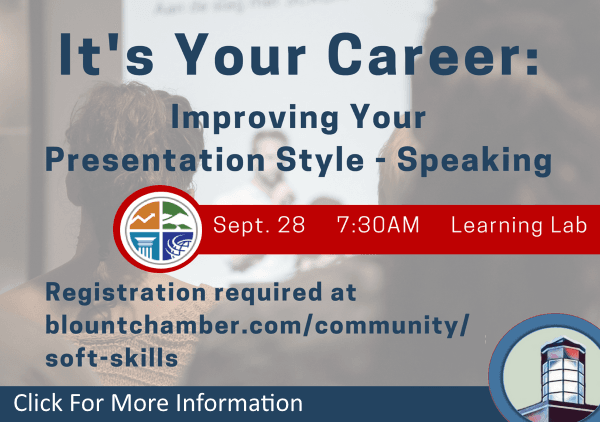 Its Your Career Improving Your Presentation Style Speaking September 28 2018 (Feature)