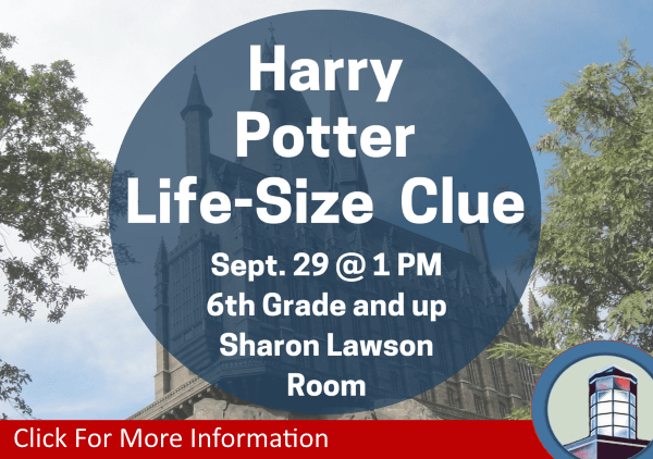 Harry Potter Life Size Clue Game September 29 2018 (Feature)