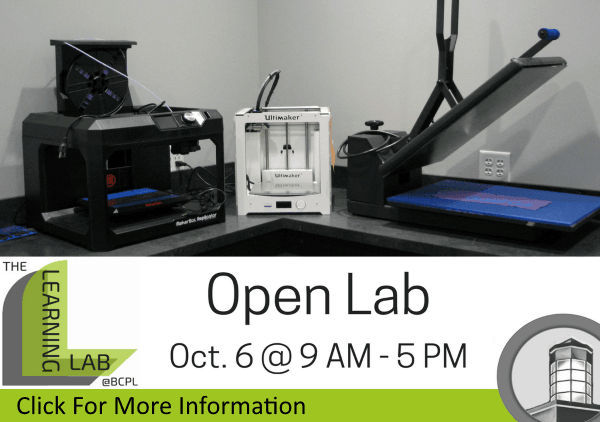 Open Lab October 6 2018 (Feature)