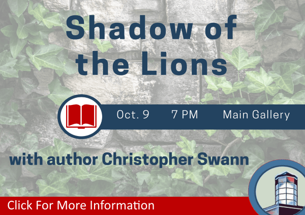 Christopher Swann Shadow of the Lions October 9 2018 (Feature)
