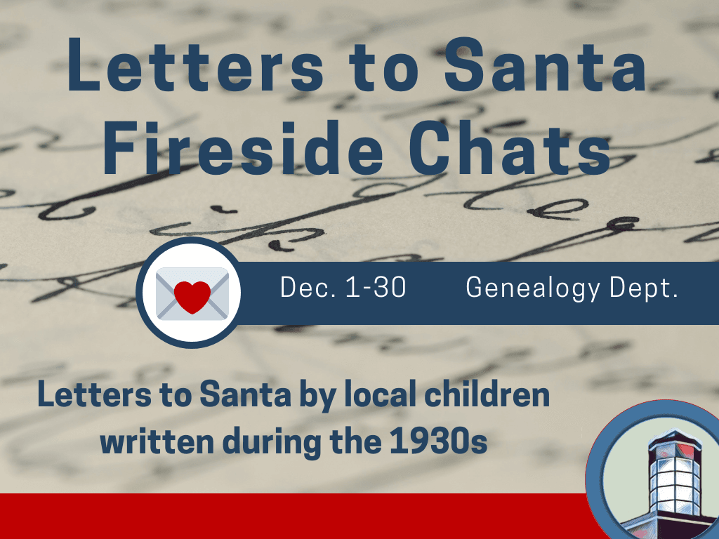 Adult Event Letters to Santa Dec 1 to 31 2018 (Signage)