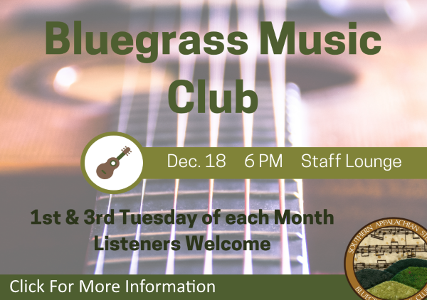 Bluegrass Music Dec 18 2018 (Feature)