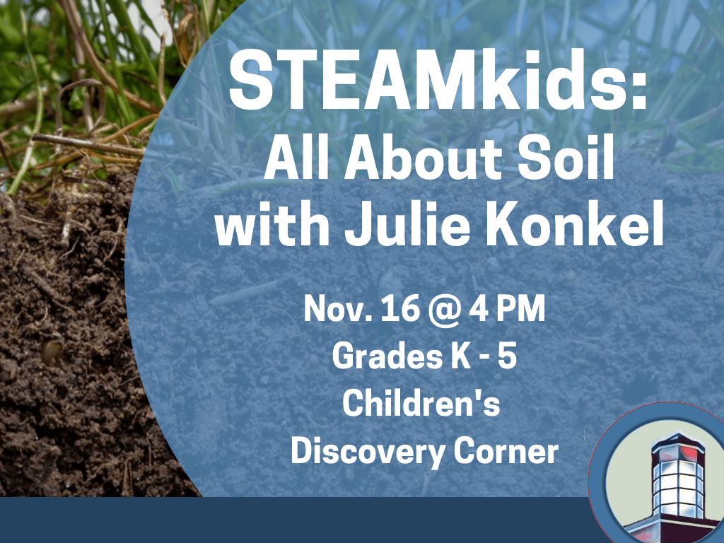 STEAMkids All About Soil Nov 16 2018 (Signage)