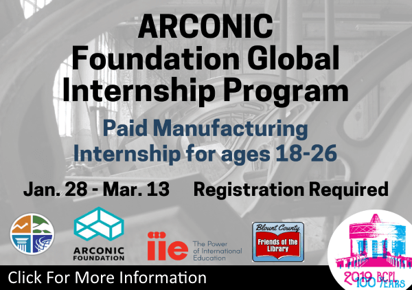 ARCONIC Internship Jan 28 to March 13 2019 (Feature)