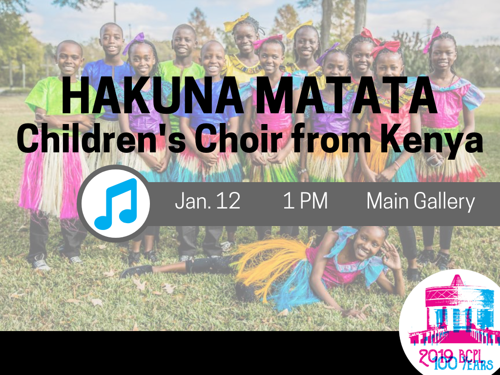 Hakuna Matata Childrens Choir Kenya Jan 12 2019 (Signage)