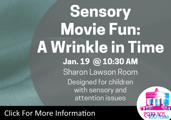 Sensory Movie Wrinkle in Time Jan 19 2019 (Feature)