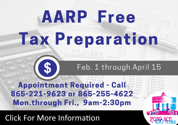 AARP Tax Program 2019 (Feature)