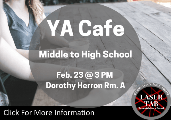 YA Cafe Feb 23 2019 (Feature)