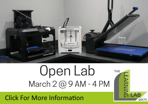 Open Lab March 2 2019 (Feature)