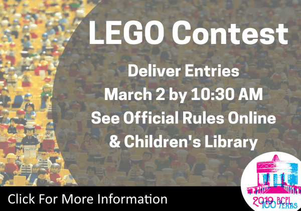 LEGO Contest Mar 2 2019 (Feature)