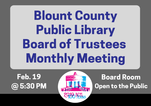 BCPL Board Monthly Feb 19 2019 (Feature)