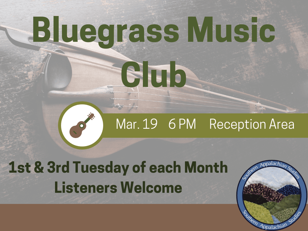 Bluegrass Music Mar 19 2019 (Signage)