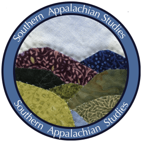 Southern Appalachian Studies Logo Blue transparent
