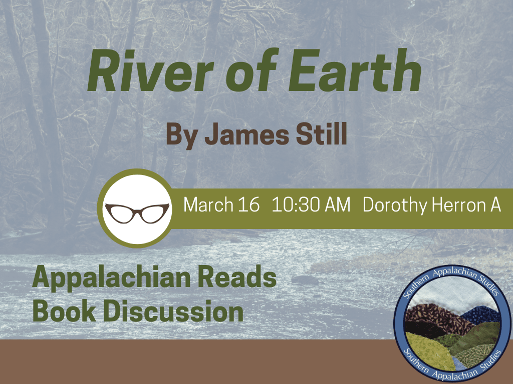 Appalachian Reads River of Earth March 16 2019 (Signage)