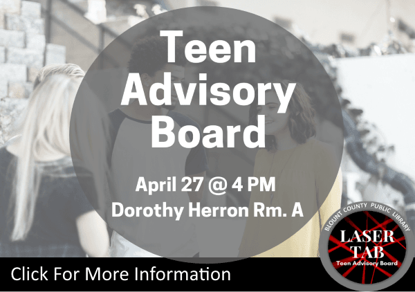 Teen Advisory Board - April 27 2019 (Feature)