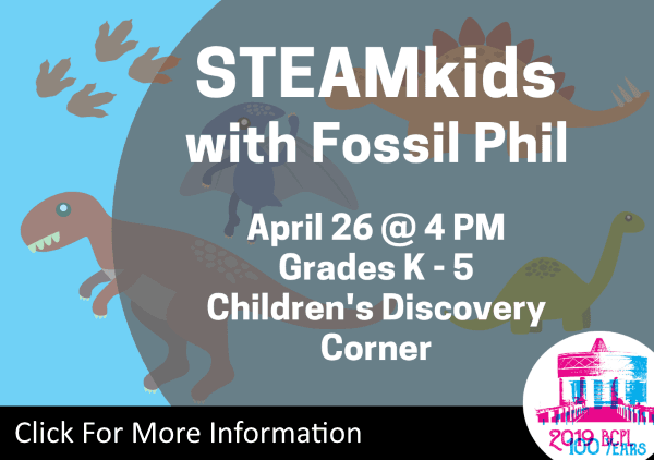 STEAMkids Fossil Phil April 26 2019 (Feature)
