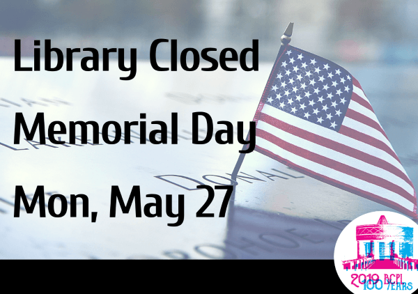 Memorial Day May 27 2019 (Feature)