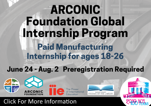 ARCONIC Internship June 24 to Aug 2 2019 (Feature)