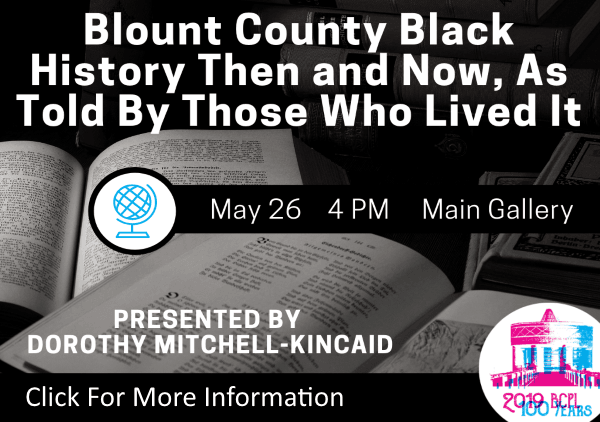Blount County Black History May 26 2019 (Feature)