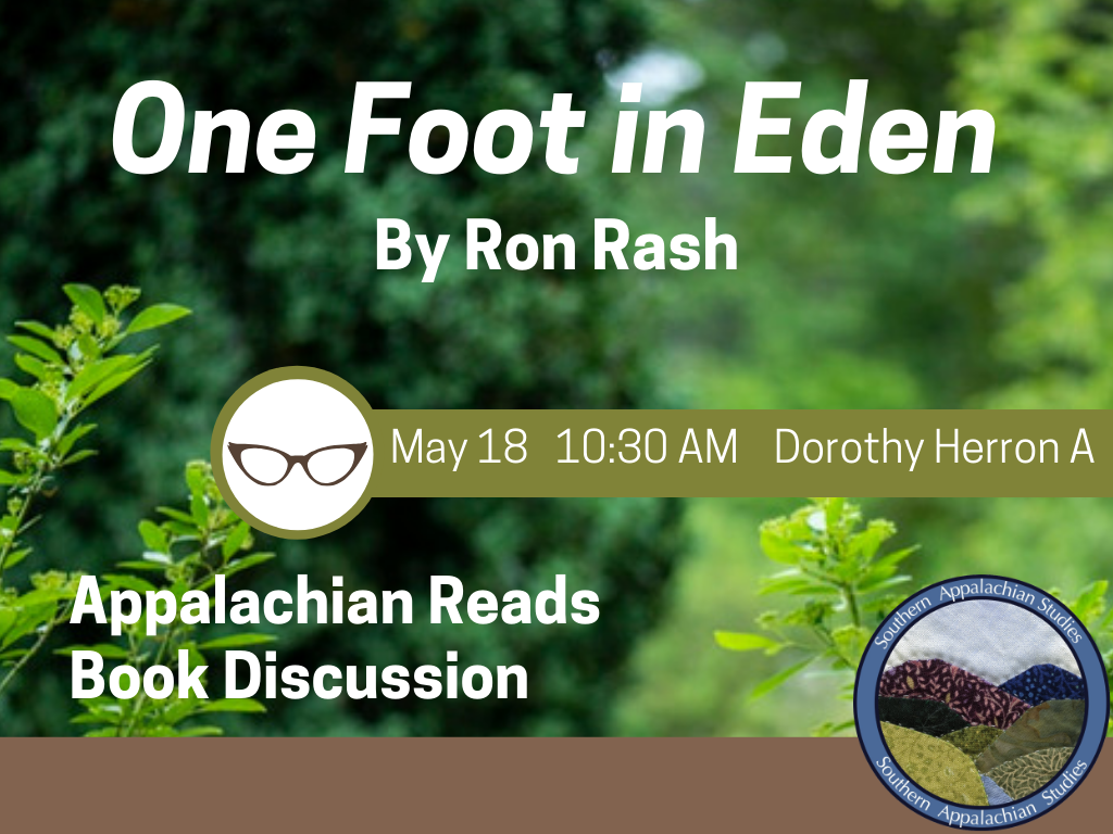 Appalachian Reads One Foot in Eden May 18 2019 (Signage)