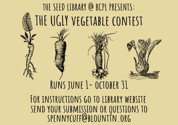 Ugly Vegetable Contest June 1-Oct 31 2019 (Feature)