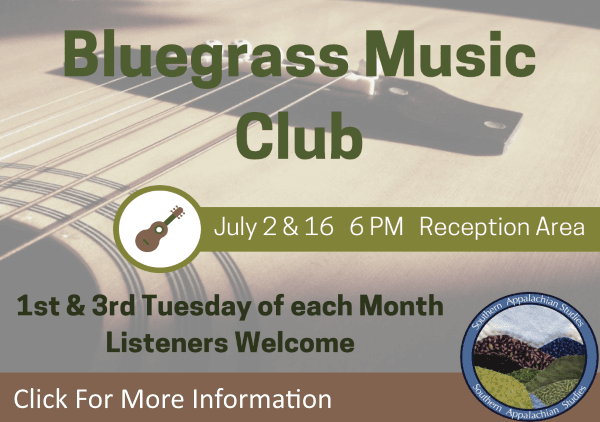 Bluegrass Music Club July 2 16 2019 (Feature)