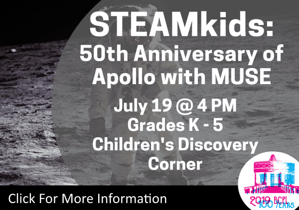 STEAMkids Apollo Anniversary  with MUSE July 19 2019 (Feature)