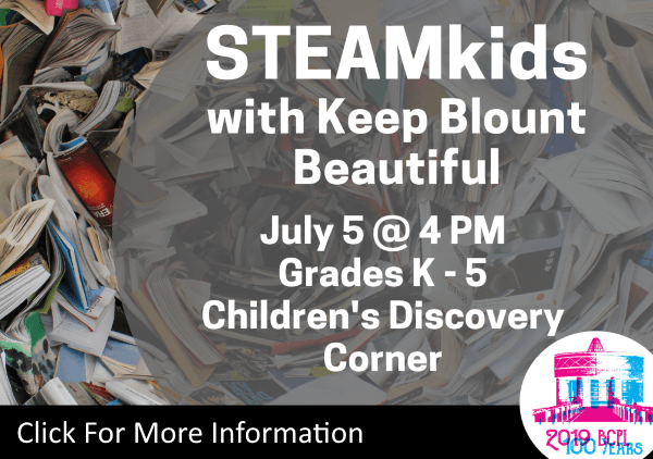 STEAMkids Blount Beautiful July 5 2019 (Feature)