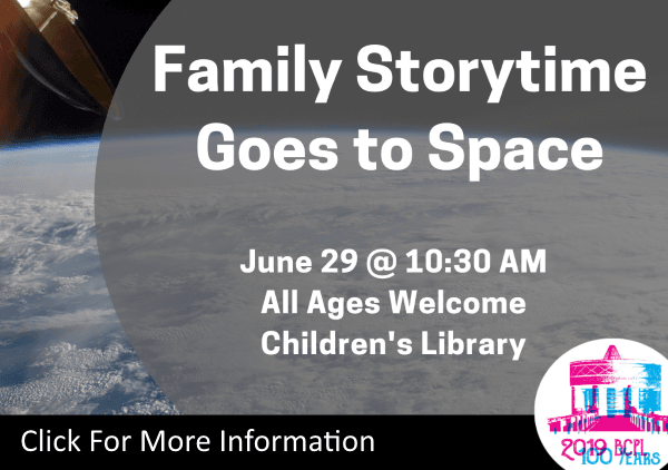 Family Storytime Goes to Space June 29 2019 (Feature)