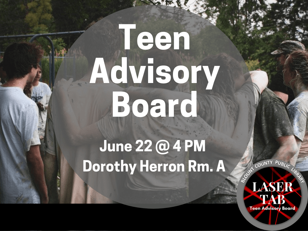 Teen Advisory Board June 22 2019 (Signage)