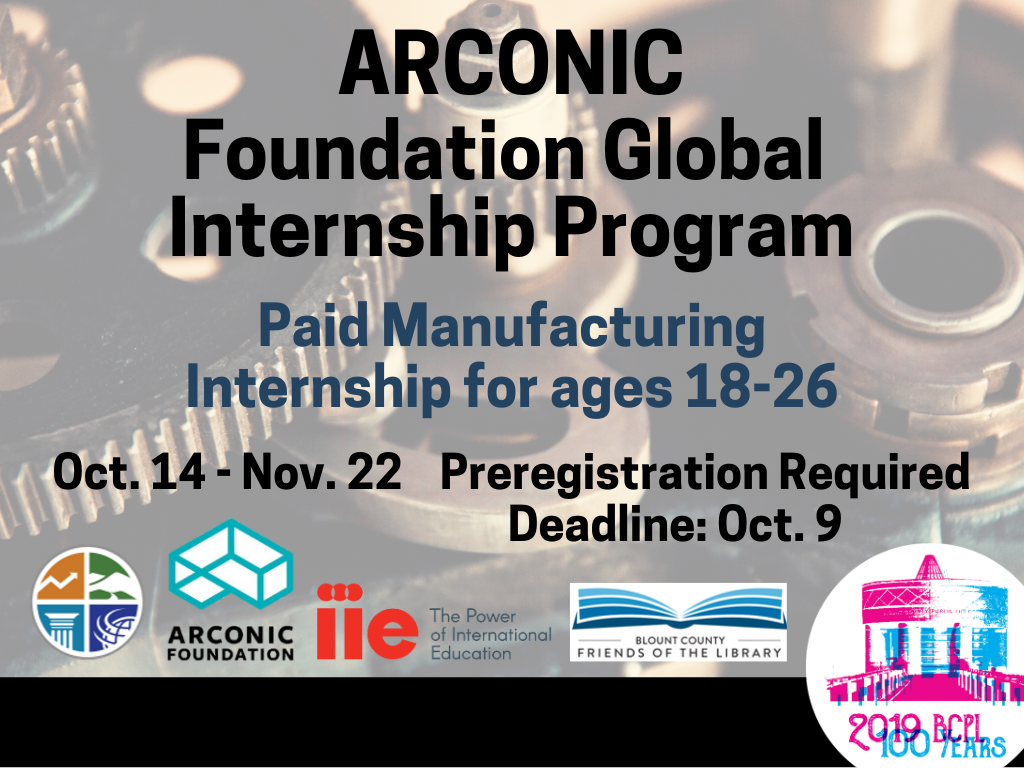 ARCONIC Internship Oct 14 to Nov 22 2019 (Signage)
