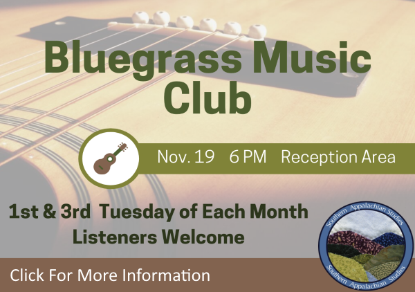 Bluegrass Music Club Nov 19 2019 (Feature)