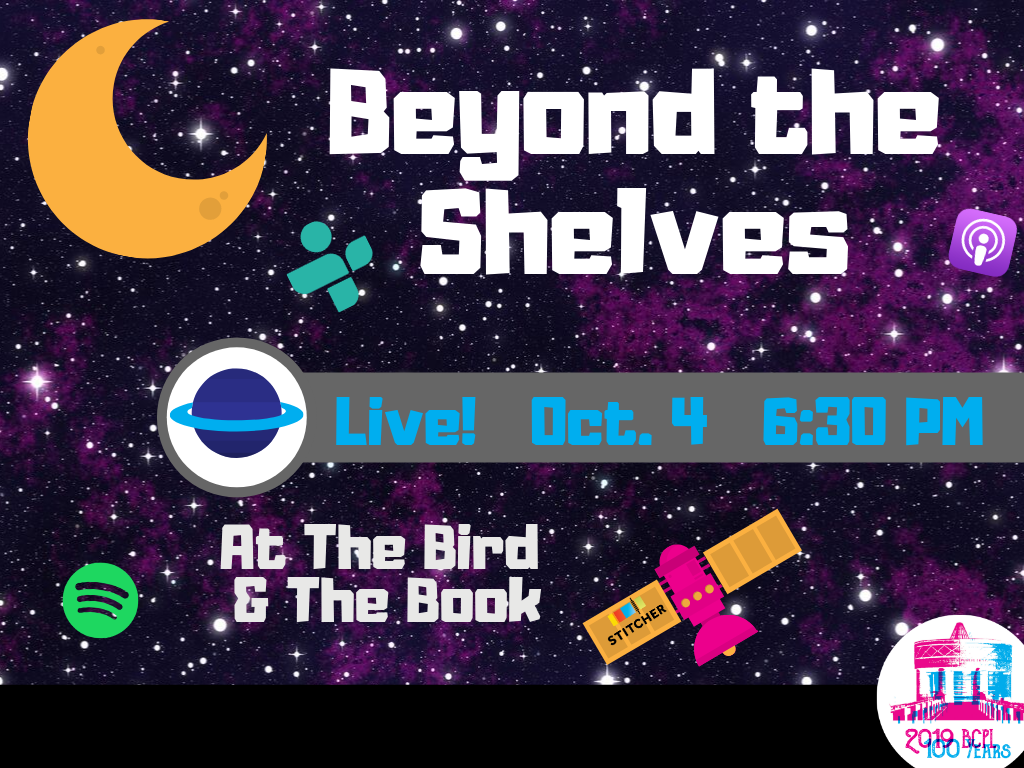Beyond the Shelves Oct 4 2019 (Signage)