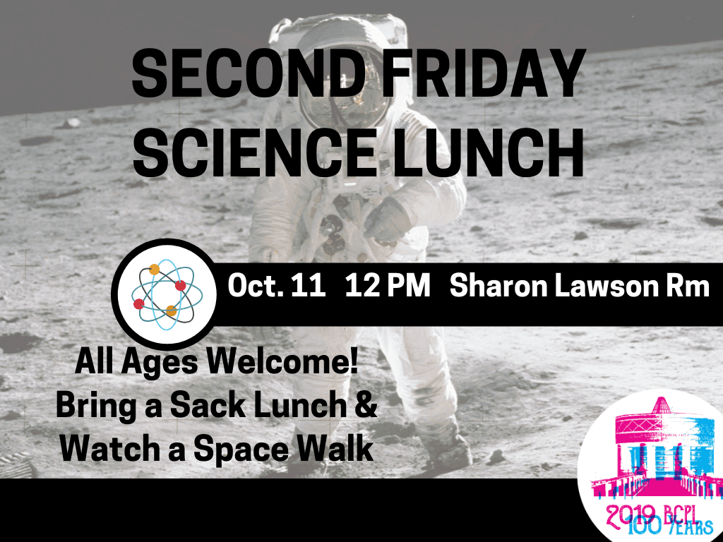 Second Friday ScienceLunch Oct 11 2019 (Signage)